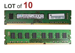 8GB Desktop RAM DDR3 Memory PC3L-12800U - 10 Pieces
