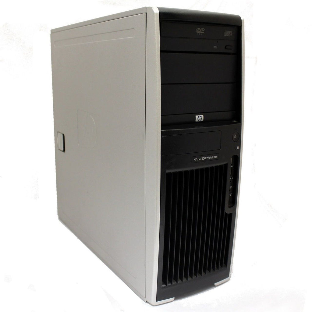 HP 4600 Workstation C2Q-Q9550 2.8GHz 8GB 1TB DVD Windows 10 Pro
