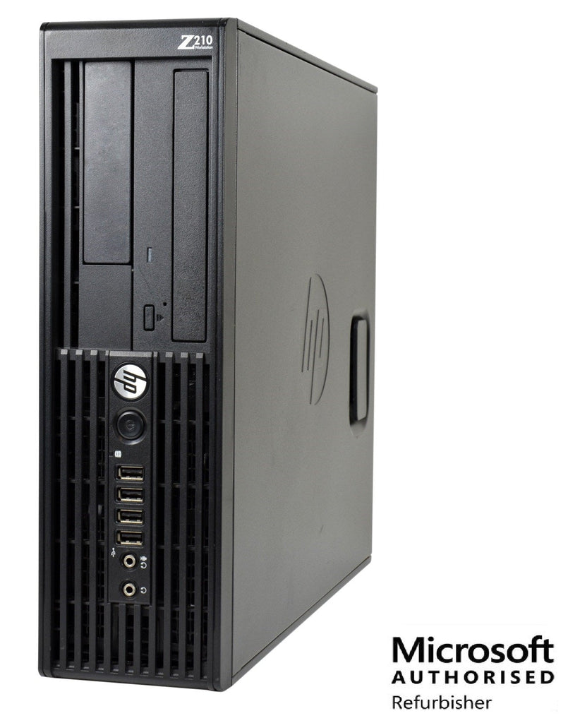 HP Z210 SFF I5 2400 3.15Ghz  8GB 1TB DVD WINDOWS 10 PRO WIFI