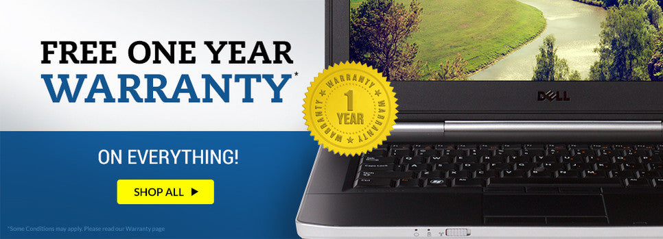 Refurbished Computers & Laptops Free One Year Warranty