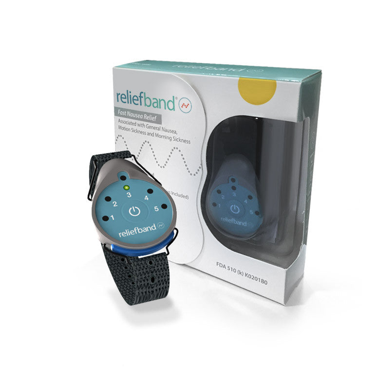 Reliefband Wearable Technology for Nausea, Motion Sickness and Morning Sickness
