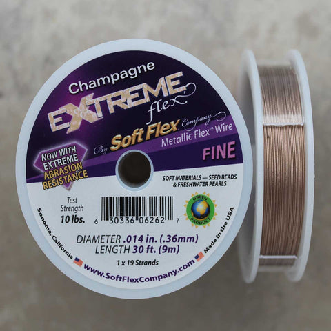 Soft Flex Champagne Fine Wire, 30 Foot Spool