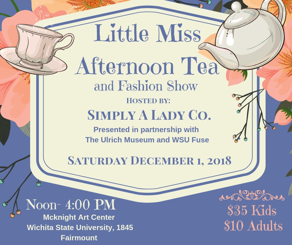 Little Miss Afternoon Tea and Fashion Show