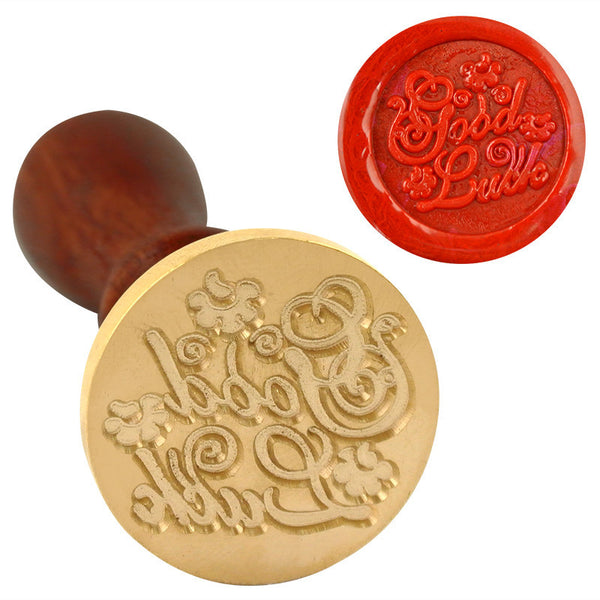 UNIQOOO Good Luck Symbol Wax Sealing Stamp