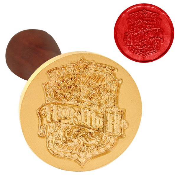 UNIQOOO Harry Potter Hufflepuff Symbol Wax Sealing Stamp