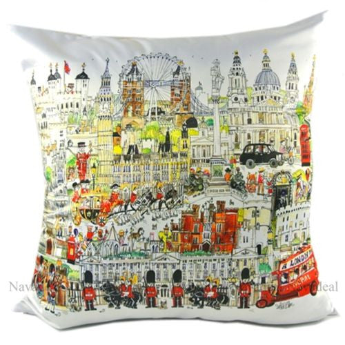 Luxury UK London Eye Tour Attractions Decorative Pillowcase Cushion Cover Sham