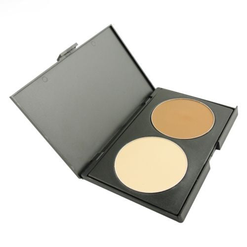 Ivory Natural & Contour Bronzer Face Compact Powder Palette Make Up Cosmetics