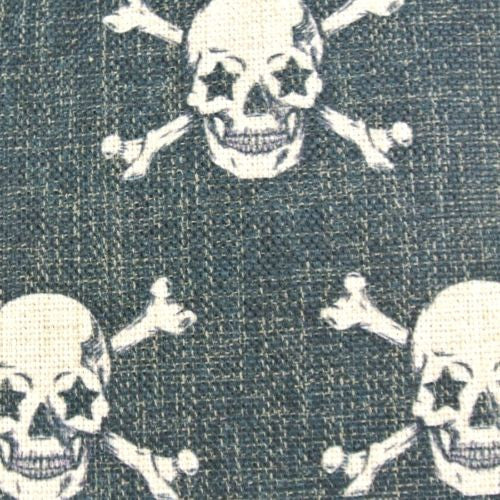 Punk Rock Black Gothic Skulls Bone Halloween Decorative Pillowcase Cushion Cover