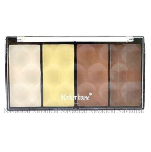 4 Colors Cosmetic Highlighter Bronzer Tan Contour Powder Face Make Up Palette