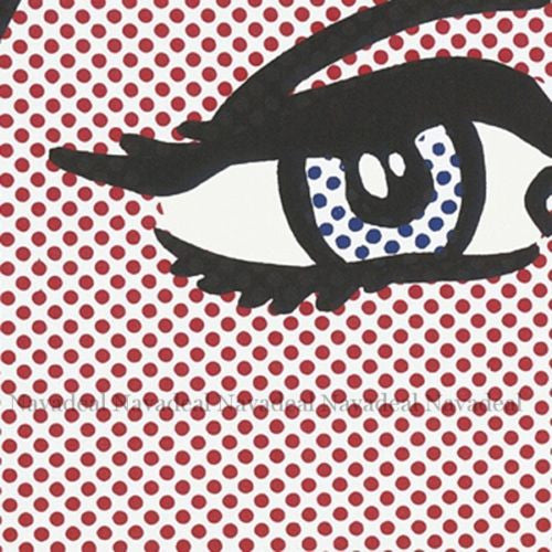 Pop Art Modern Reverie Roy Lichtenstein Decorative Canvas Painting Poster