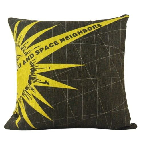 "John Lewellen ""You And Space Neighbors"" Sun Decorative Pillowcase Cushion Cover"