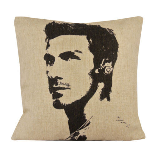 Football England David Beckham Star Decorative Pillow Case Cushion Cover