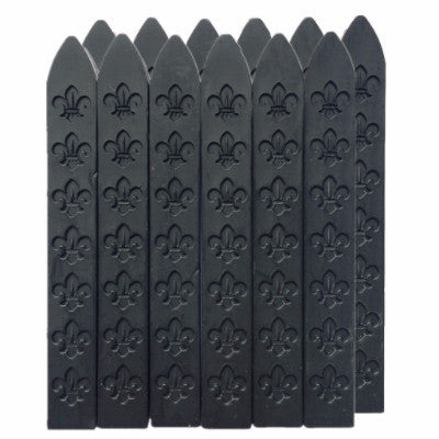 UNIQOOO Traditional Carved Sealing Wax, Black