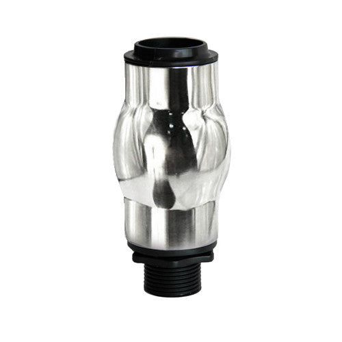 #1 Foam Jet Fountain Nozzle, Stainless Steel, Plastic