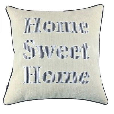 Luxury White Ocean Sea Home Embroidery Decorative Pillow Case Cushion Cover