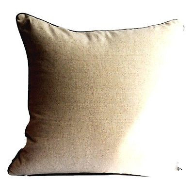 Brown Vintage Print No.2 Logo Decorative Art Pillow Case Cushion Cover Sham