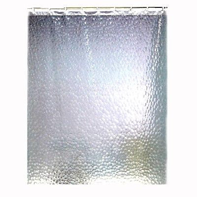 Luxury Diamonds Shower Curtain, Silver