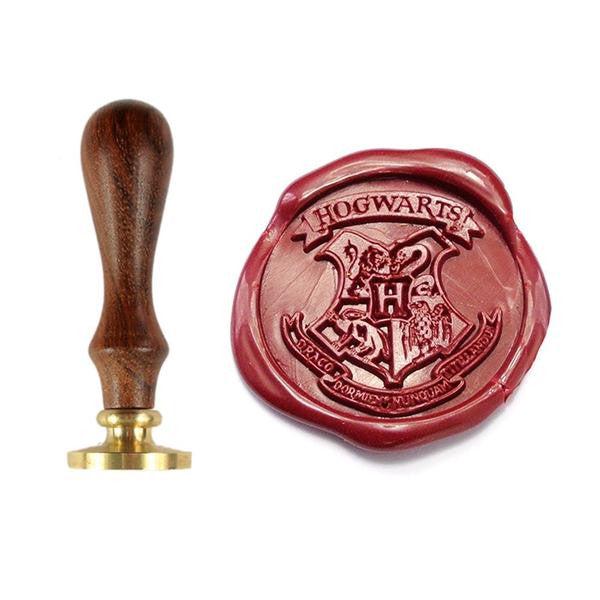 UNIQOOO Harry Potter Hogwards Symbol Wax Sealing Stamp