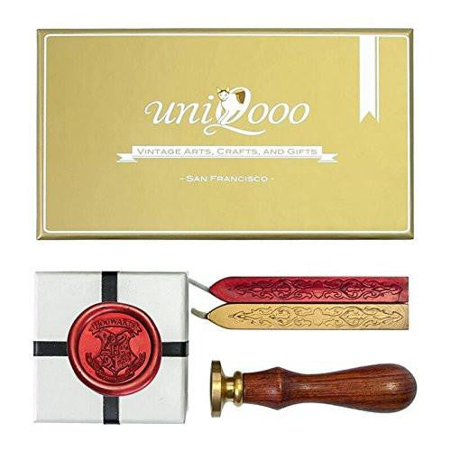 Harry Potter Hogwarts School Ministry of Magic Wax Seal Stamp Kit