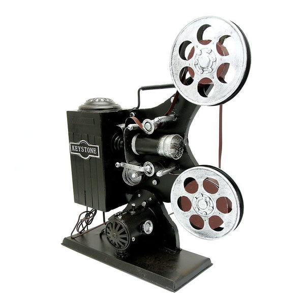 Handcraft Vintage Movie Film Projector Prop