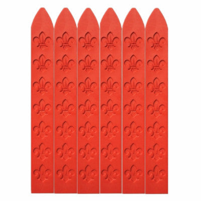 UNIQOOO Traditional Carved Sealing Wax, Red
