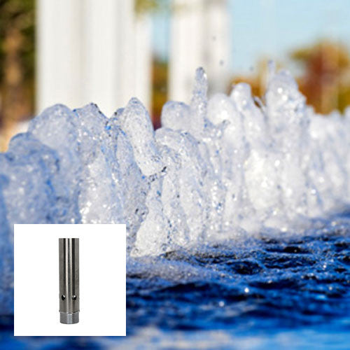 Bubbling Spring Fountain Nozzle, Stainless Steel