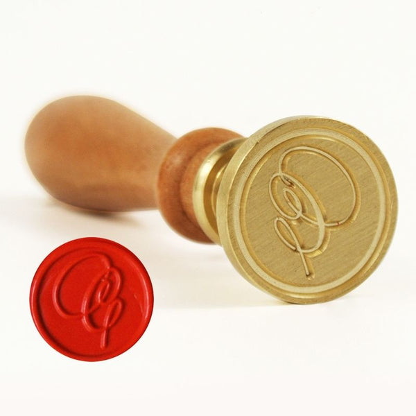 Vintage Slim Tight Script Initial C Wax Sealing Stamp