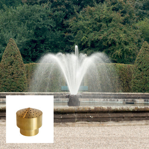Cluster Fountain Nozzle, Brass