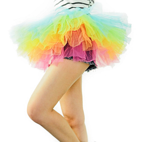 Organza Rainbow Dance or Ballet Tutu