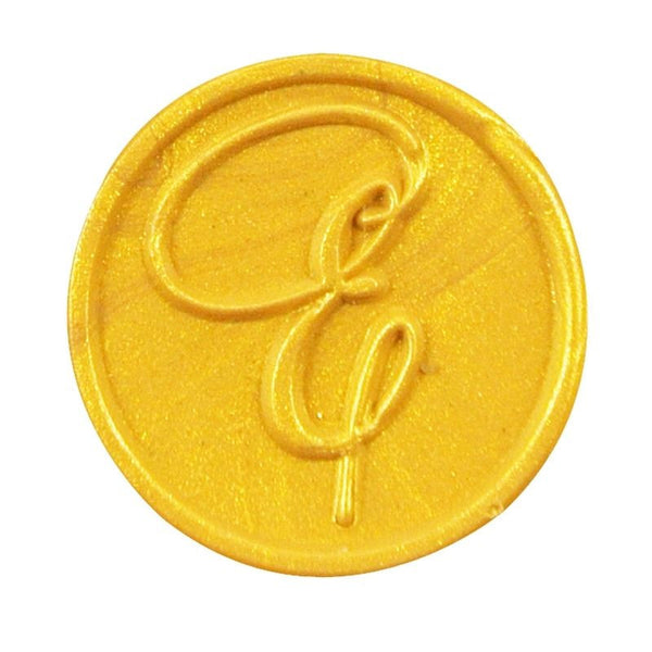 Vintage Slim Tight Script Initial E Wax Sealing Stamp