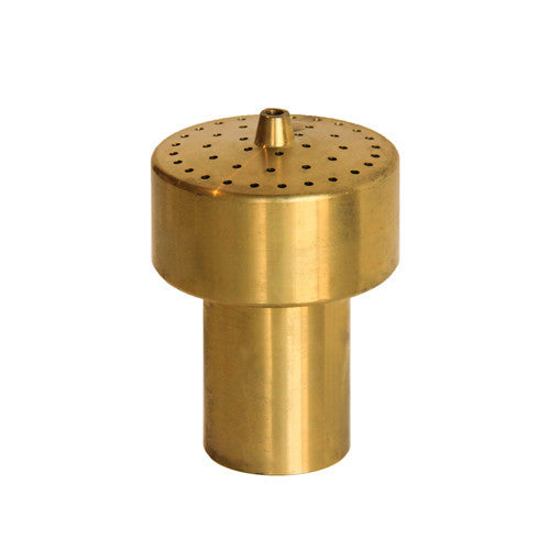 Extended Cluster Fountain Nozzle, Brass