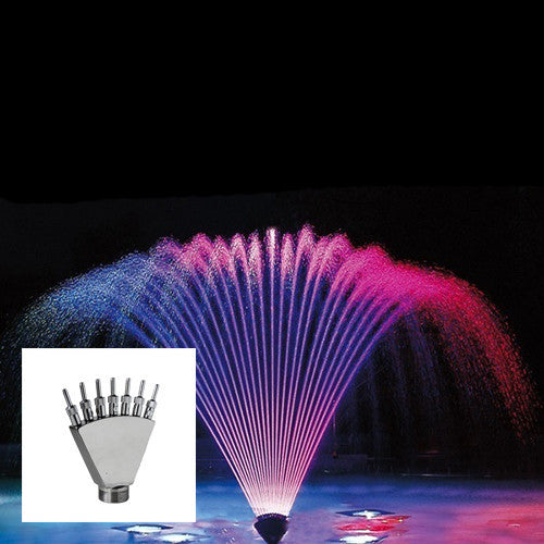 Finger Jet Fountain Nozzle, Stainless Steel