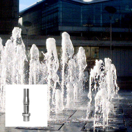 Frothy Fountain Nozzle, Stainless Steel