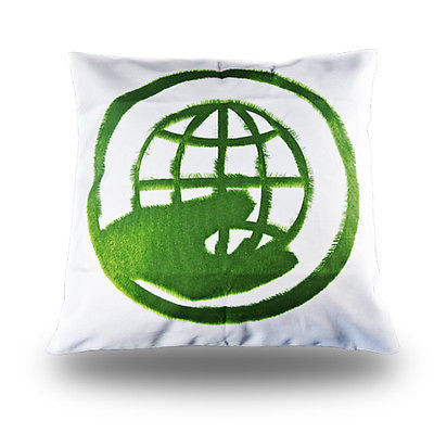 Green Earth Protection ECO Decorative Pillow Case Art Cushion Cover Sham