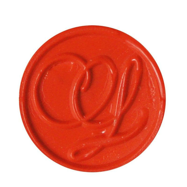 Vintage Slim Tight Script Initial L Wax Sealing Stamp
