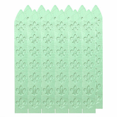 UNIQOOO Traditional Carved Sealing Wax, Light Green