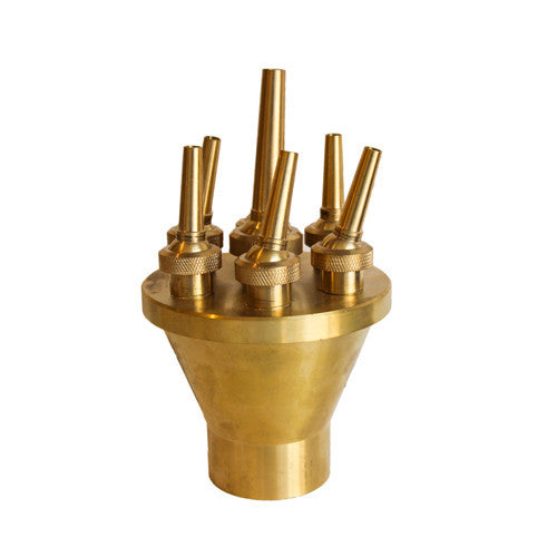 Lotus Fountain Nozzle, Brass