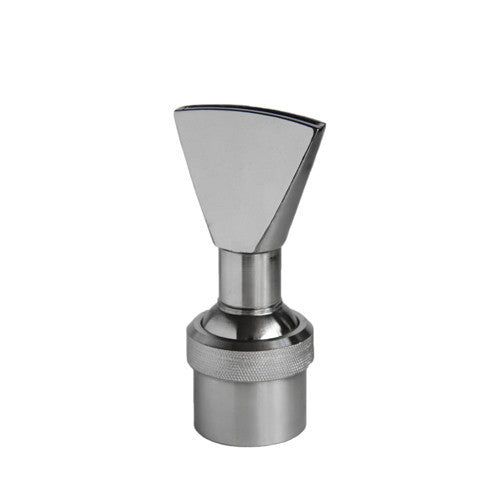 Narrow Fan Shaped Fountain Nozzle, Stainless Steel