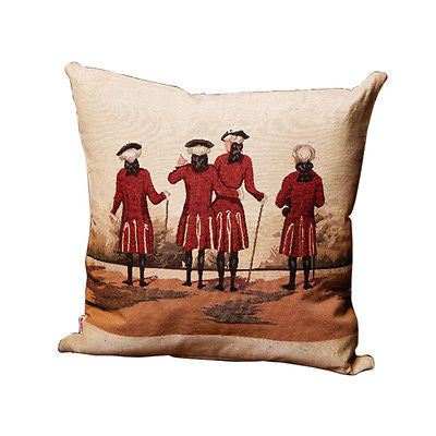 Nw French Knight Victorian Renaissance Decorative Pillow Case Cushion Cover Sham
