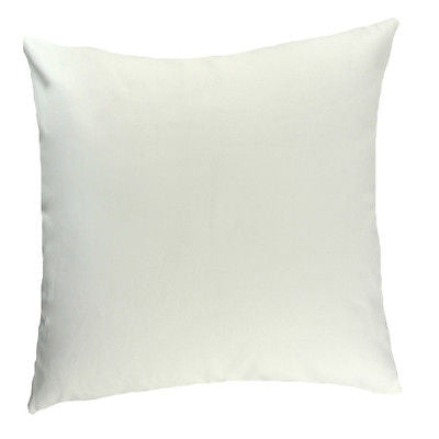 "Modern White Black ""Lean On Me"" Cotton Canvas Pillow Case Cushion Cover Sham"