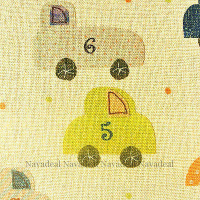Cute Living Toy Cars Kids Room Art Decorative Pillow Case Cushion Cover Sham
