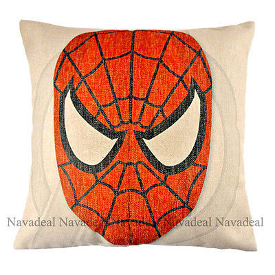 Super Hero Spider Man Cartoon MovieCharacter Decorative Pillowcase Cushion Cover