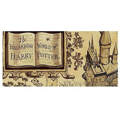 Vintage Painting Canvas Poster Recreation Harry Potter Hogwarts Magic 22*33