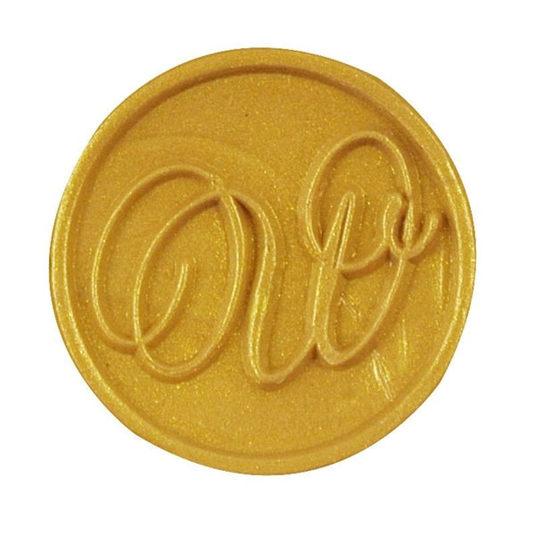 Vintage Slim Tight Script Initial W Wax Sealing Stamp