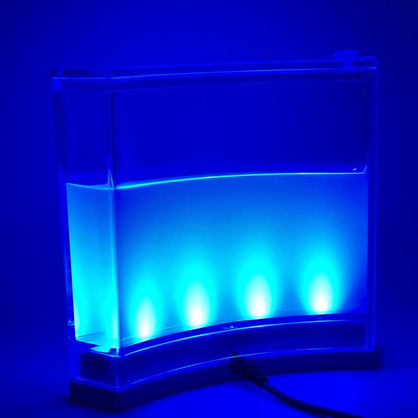 LED Light Up Blue Gel Ant Farm Habitat