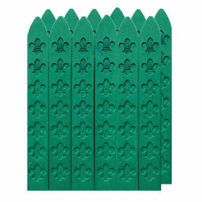 UNIQOOO Traditional Carved Sealing Wax, Green
