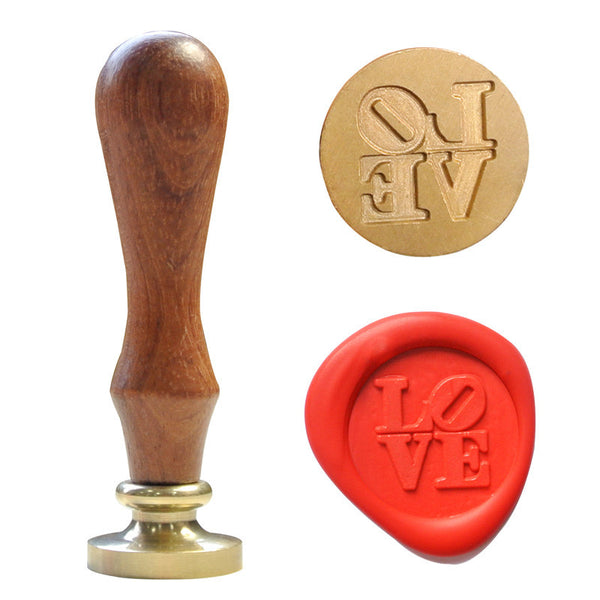 UNIQOOO Love Symbol Wax Sealing Stamp
