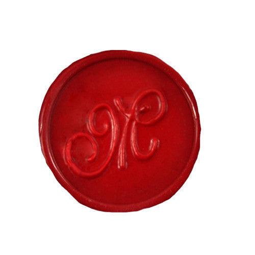 UNIQOOO Initial M Symbol Wax Sealing Stamp