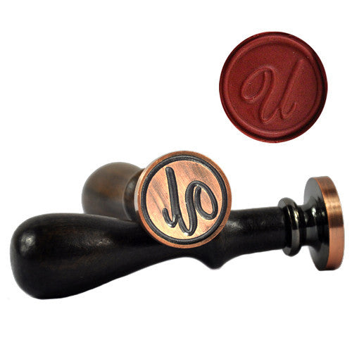 UNIQOOO Initial U Symbol Wax Sealing Stamp