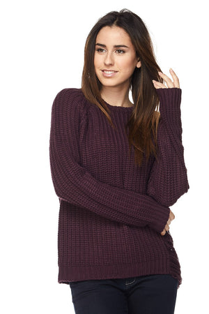 CAITLYN DISTRESSED SWEATER